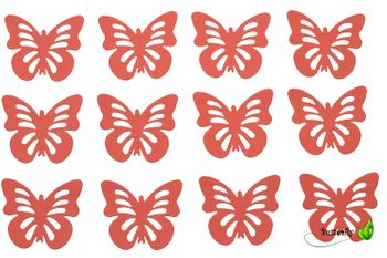 12 Schmetterlinge 3D Aufkleber – Bild 6