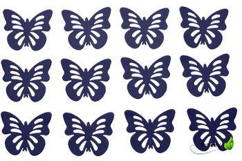 12 Schmetterlinge 3D Aufkleber – Bild 9