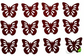 12 Schmetterlinge 3D Aufkleber – Bild 7