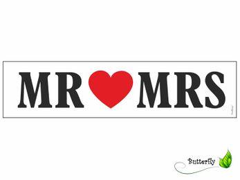 KFZ Schild für Hochzeit – Bild 5