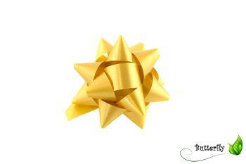 10 Geschenkschleifen Rosetten 8cm  – Bild 10