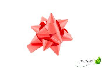 10 Geschenkschleifen Rosetten 8cm  – Bild 9