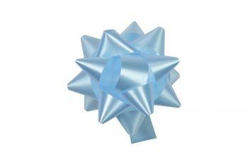 10 Geschenkschleifen Rosetten 8cm  – Bild 8