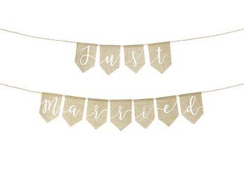 Banner Girlande Hochzeit – Bild 11