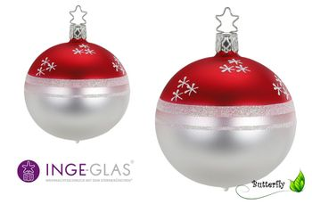 "1 Stk. Christbaumkugel ""Joy of Living"" von INGE-Glas® – Bild 1"