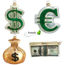 Christbaumschmuck Figuren Geld IMP – Bild 1