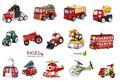 Weihnachtskugeln Figuren Figuren Transport Fahrzeuge  001