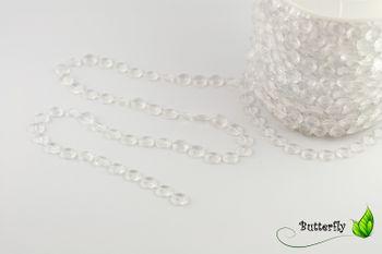30m Kristallgirlande 10mm – Bild 3