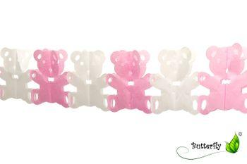 """Papier-Girlande """"TEDDY"""" 4 Meter  – Bild 3"""