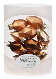 10 Diamanten 4,5cm Glas Weihnachtsschmuck – Bild 19
