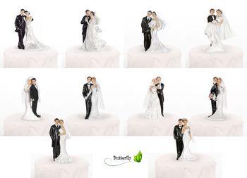 Figur Brautpaar 11cm