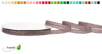 32m Rolle Lurexband 6mm – Bild 3