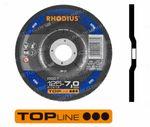 180x7x22,23 RS67 (Form 27) Schruppscheibe - Stahl, 10 Stück im Karton 205716 001