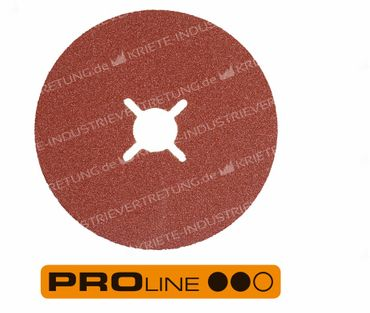 100x16 KFS, Korn 100, Fiberscheibe - Stahl, 25 Stück im Karton 304283