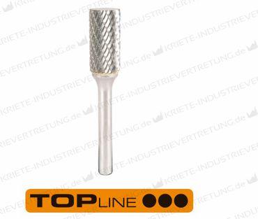 12,7x25x6x70 HF A, Z ALU, Hartmetall-Frässtift Form A, 12,7 mm 1 Stück 305007