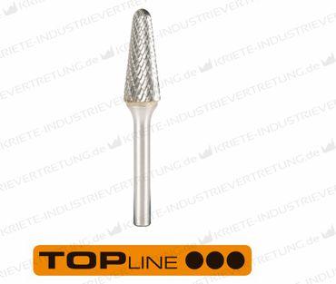 12,7x32x6x77 HF L, Z ALU, Hartmetall-Frässtift Form L, 12,7 mm 1 Stück 305087