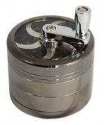 """Turn R "" Grinder 4-teilig - Farbe dark-chrome"