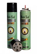 Feuerzeug Butan Gas - Premium - Black Leaf