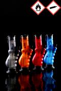 Atomic Bong Feuerzeug mit 3er Jet-Flame, versch. Farben