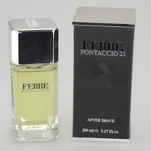 Gianfranco Ferre Pontaccio 21 After Shave 100 ml SONDERPOSTEN