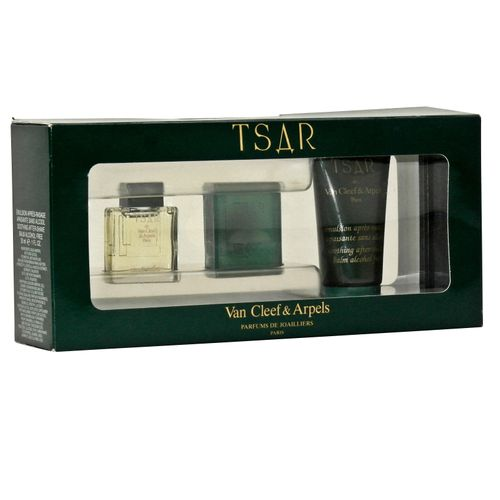van Cleef & Arpels Tsar Eau de Toilette 7 ml + 25 g Seife + After Shave Balm 30 ml