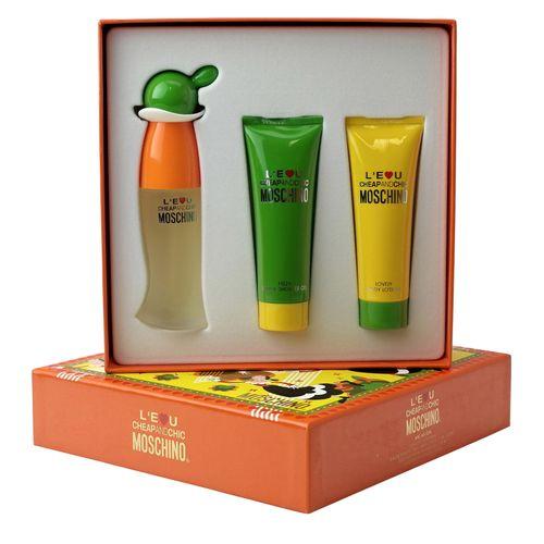 Moschino L'Eau Cheap and Chic Eau de Toilette Spray 30 ml + Bodylotion 50 ml + Duschgel 50 ml