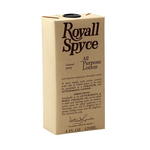 Royall Fragrances Spyce Body Cologne / After Shave Spray All Purpose Lotion 120 ml