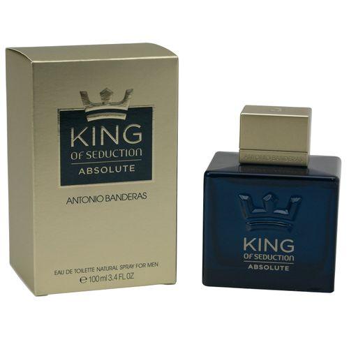 Antonio Banderas King of Seduction Absolute Eau de Toilette Spray 100 ml