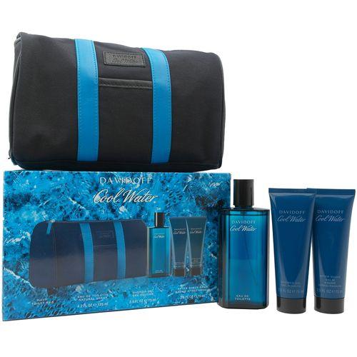 Davidoff Cool Water Eau de Toilette Spray 125 ml + After Shave Balm + Shower Gel – Image 1
