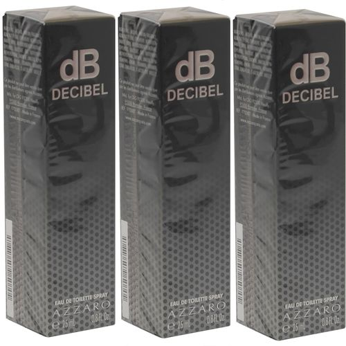 Azzaro DB Decibel Eau de Toilette Spray 75 ml (3 x 25 ml)