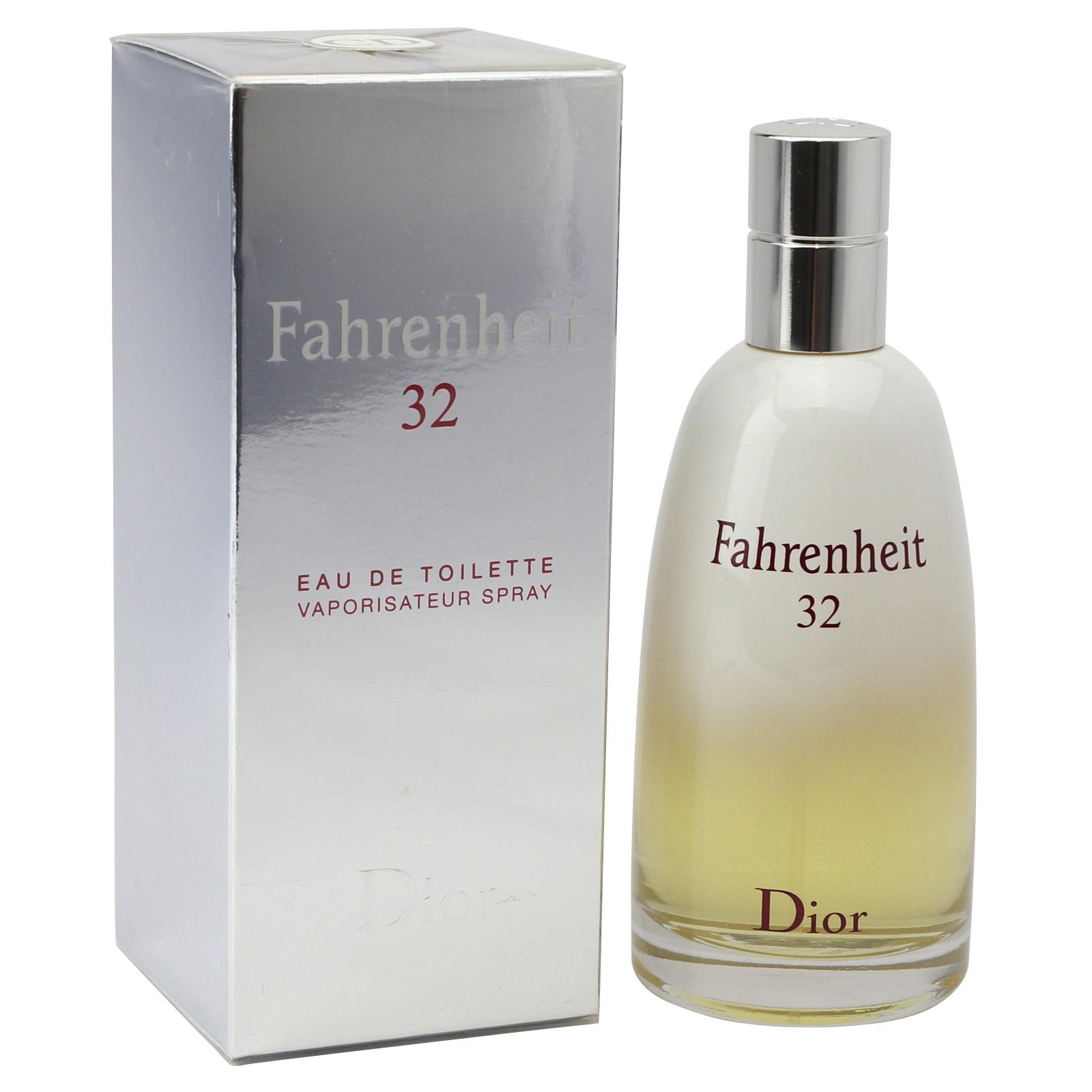 New York einzigartiger Stil achten Sie auf Christian Dior Fahrenheit 32 Eau de Toilette Spray 100 ml   Duftwelt Hamburg
