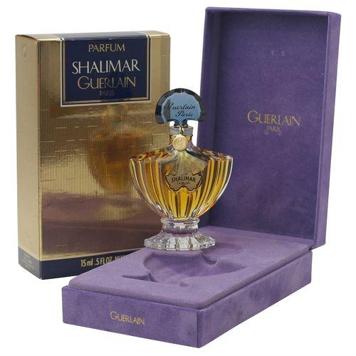 Guerlain Shalimar Parfum Extrait Splash 15 ml old vintage Version