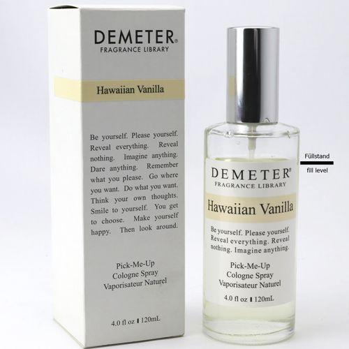Demeter Hawaiian Vanilla Eau de Cologne Spray 120 ml Restinhalt ca. 105 ml SONDERPOSTEN