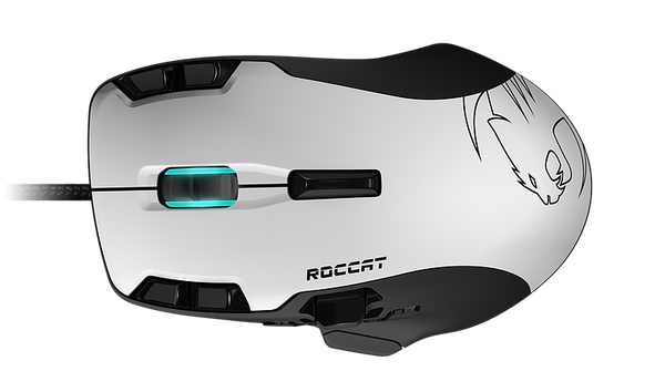 Roccat Tyon All Action Multi-Button Gaming Mouse white