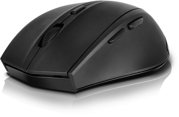 Speedlink CALADO Silent Mouse - Wireless USB, rubber-black