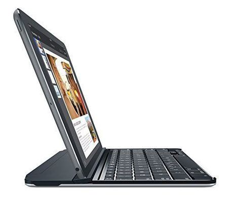 logitech Ultrathin Bluetooth TUR Grau Tastatur für IPad Air 1+2