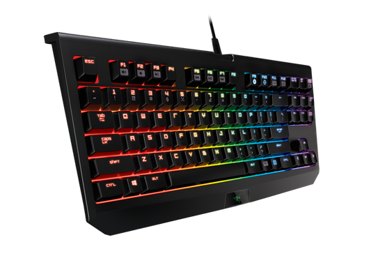 Razer BlackWidow Tournament Edition Chroma Gaming Keyboard (ENU Layout - QWERTZ)