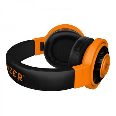 RAZER Kraken Mobile Analog Stereo Headset for iPod/iPhone/iPad Neon Orange