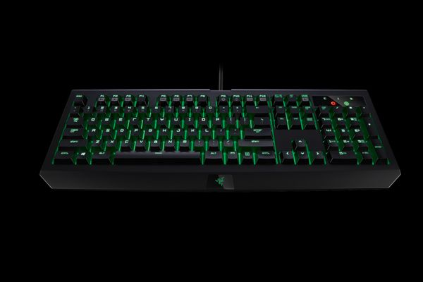 razer BlackWidow Ultimate Stealth 2016 Gaming Keyboard (DEU Layout - QWERTZ) – Bild 1