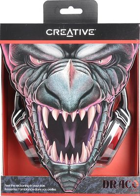 Creative HS-850 Draco Gaming Headset, schwarz