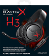 creative Sound BlasterX H3 Gaming Headset für PC, PS4 und XBOX One 001