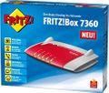 avm FRITZ!Box 7360 Wlan Router (VDSL/ADSL 300 Mbit/s DECT-Basis Media Server) 001