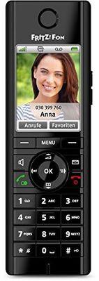 Avm FRITZ!Fon C5 DECT-Komforttelefon fu00fcr FRITZ!Box (Farbdisplay HD-Telefonie) - Plug-Type F (EU)
