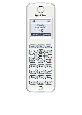 Avm FRITZ!Fon M2 DECT-Komforttelefon fu00fcr FRITZ!Box (Monochromes Display HD-Telefonie) - Plug-Type C (EU) – Bild 3
