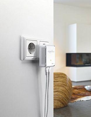 Devolo dLAN 500 duo PowerLine (500 Mbit/s 2x LAN Port Ergänzung) white – Bild 4