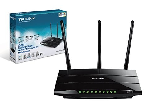 tp-link N600 Wireless Dual Band Gigabit VDSL2/ADSL2+ Modem Router (DE Version) - Plug-Type C (EU)