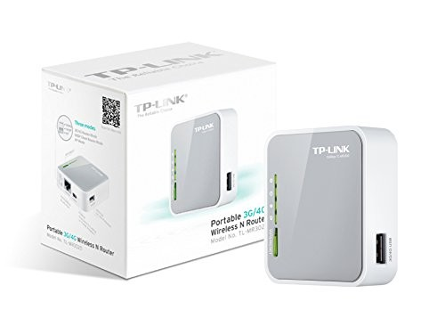 tp-link Portable 3G/4G Wireless N Router Plug-Type F (EU)