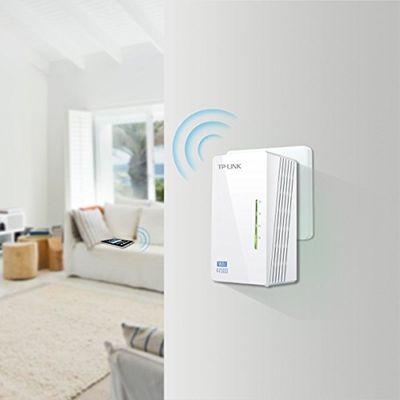 Tp-link AV500 + WiFi N300 Kit Powerline Netzwerkadapter, France Version (TL-WPA4225KIT, 300Mbits, HomePlug, Plug & Play) – Bild 4