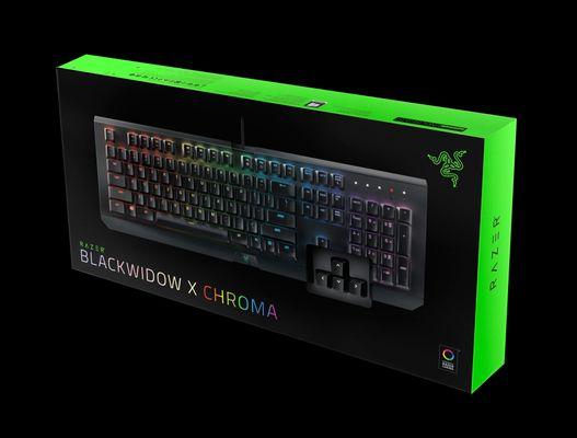razer BlackWidow X Chroma Gaming Keyboard Black (NORDIC Layout - QWERTY) – Bild 5