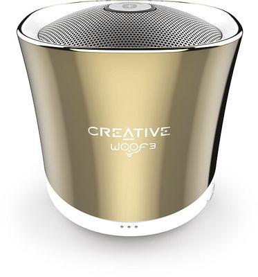 Creative Woof 3 BT Wireless Speaker, autumn gold – Bild 1